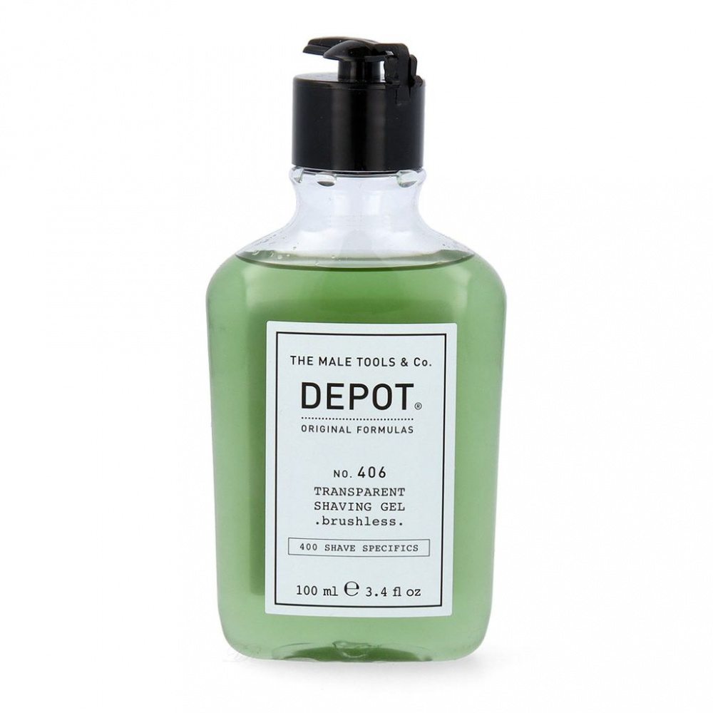 Bilde av Depot No. 406 Transparent Shaving Gel 100ml